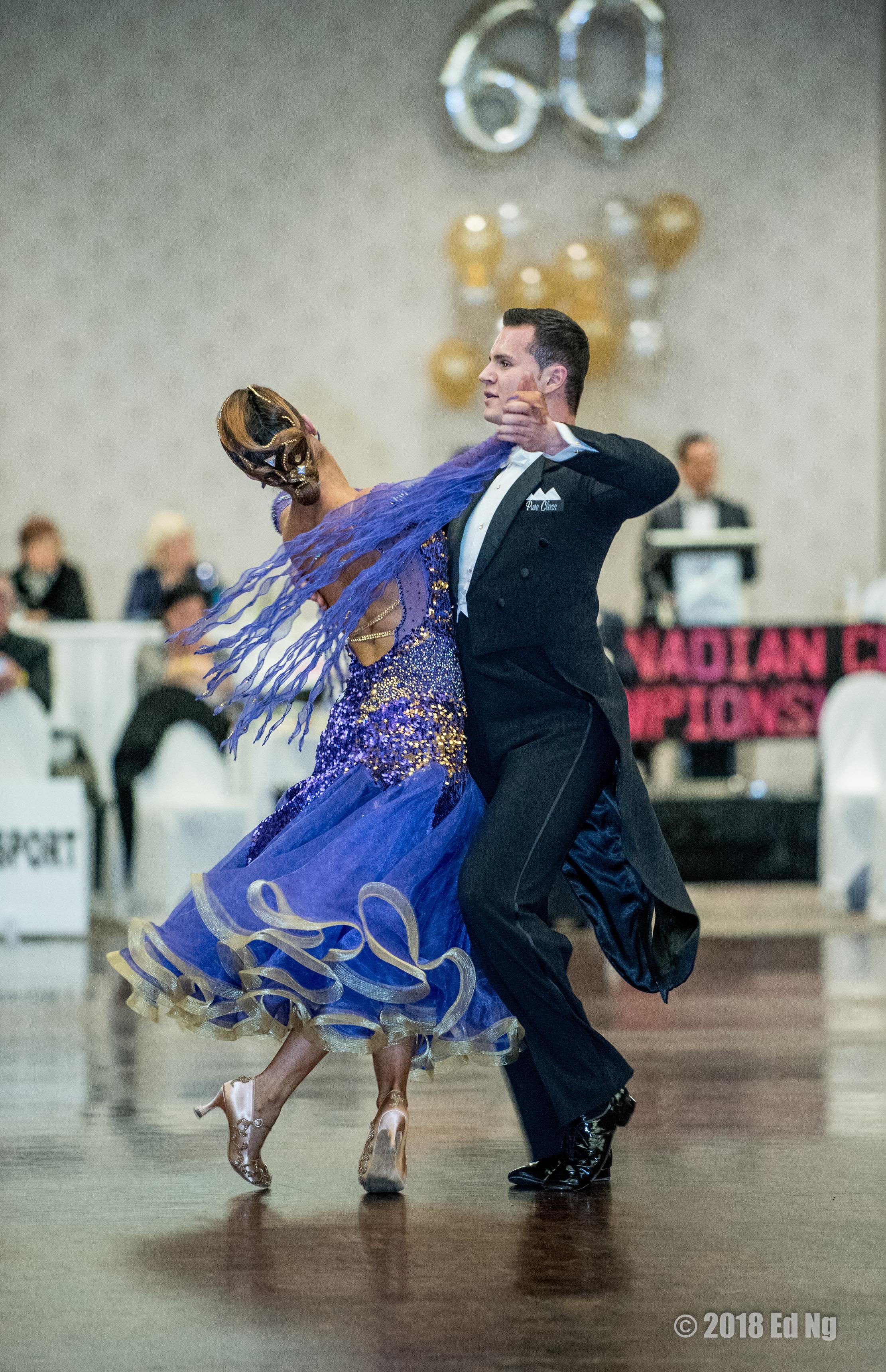 Sarah-Maude Thibaudeau et Daniel Zaharia - Danse Sportive Quickstep