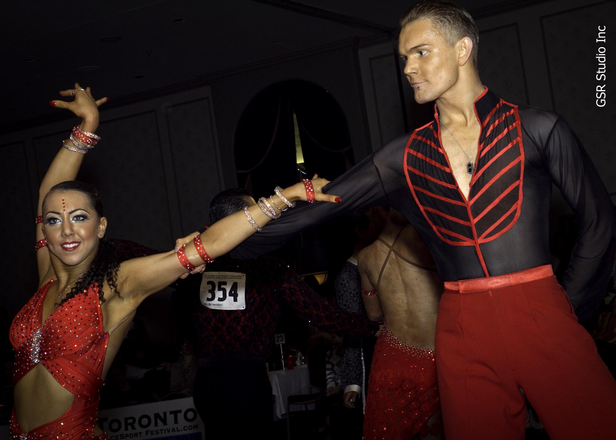 Sarah-Maude Thibaudeau et Daniel Studenny - Championnat canadien fermé de Danse Sportive en latin