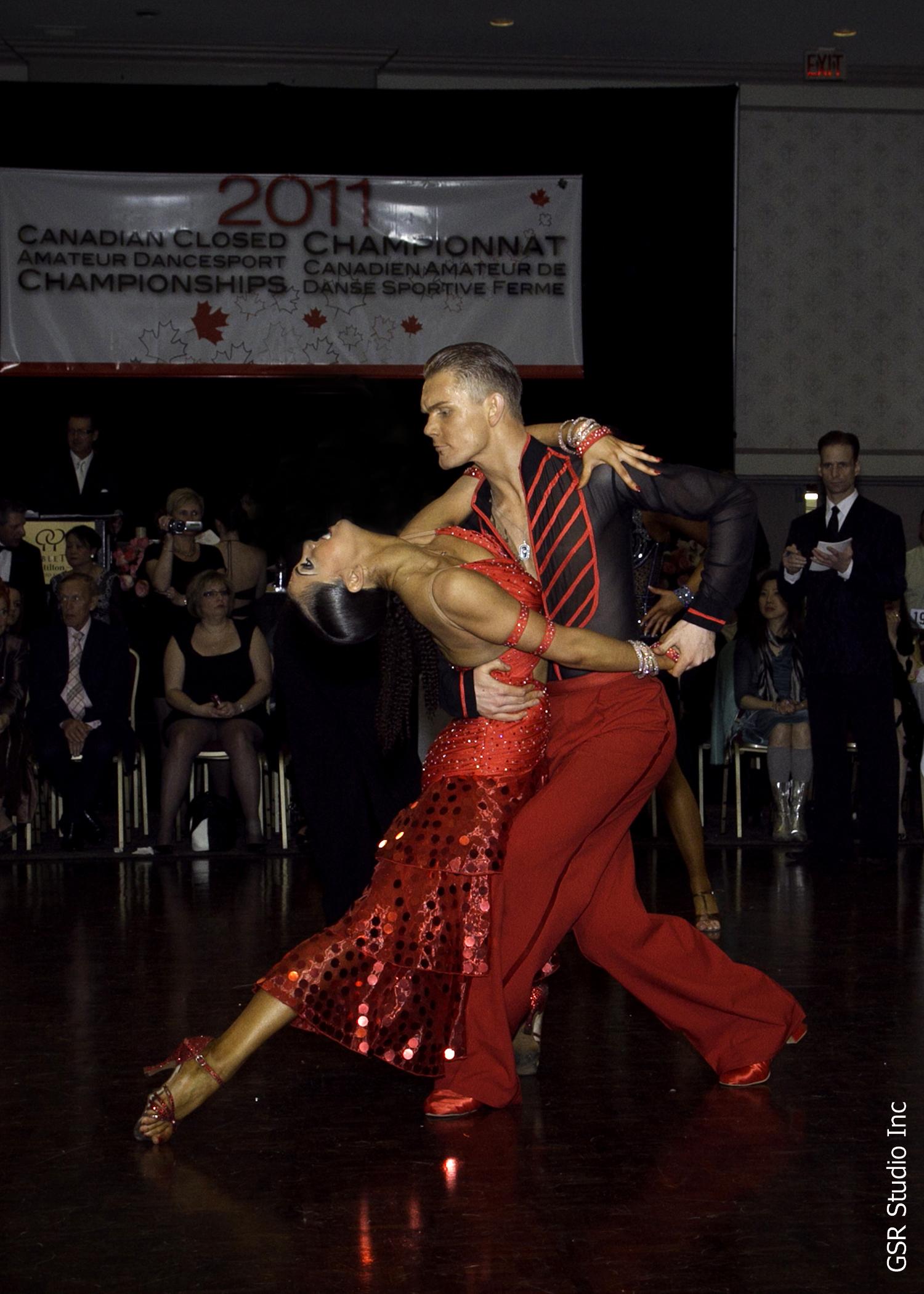 Sarah-Maude Thibaudeau et Daniel Studenny - Championnat canadien fermé de Danse Sportive