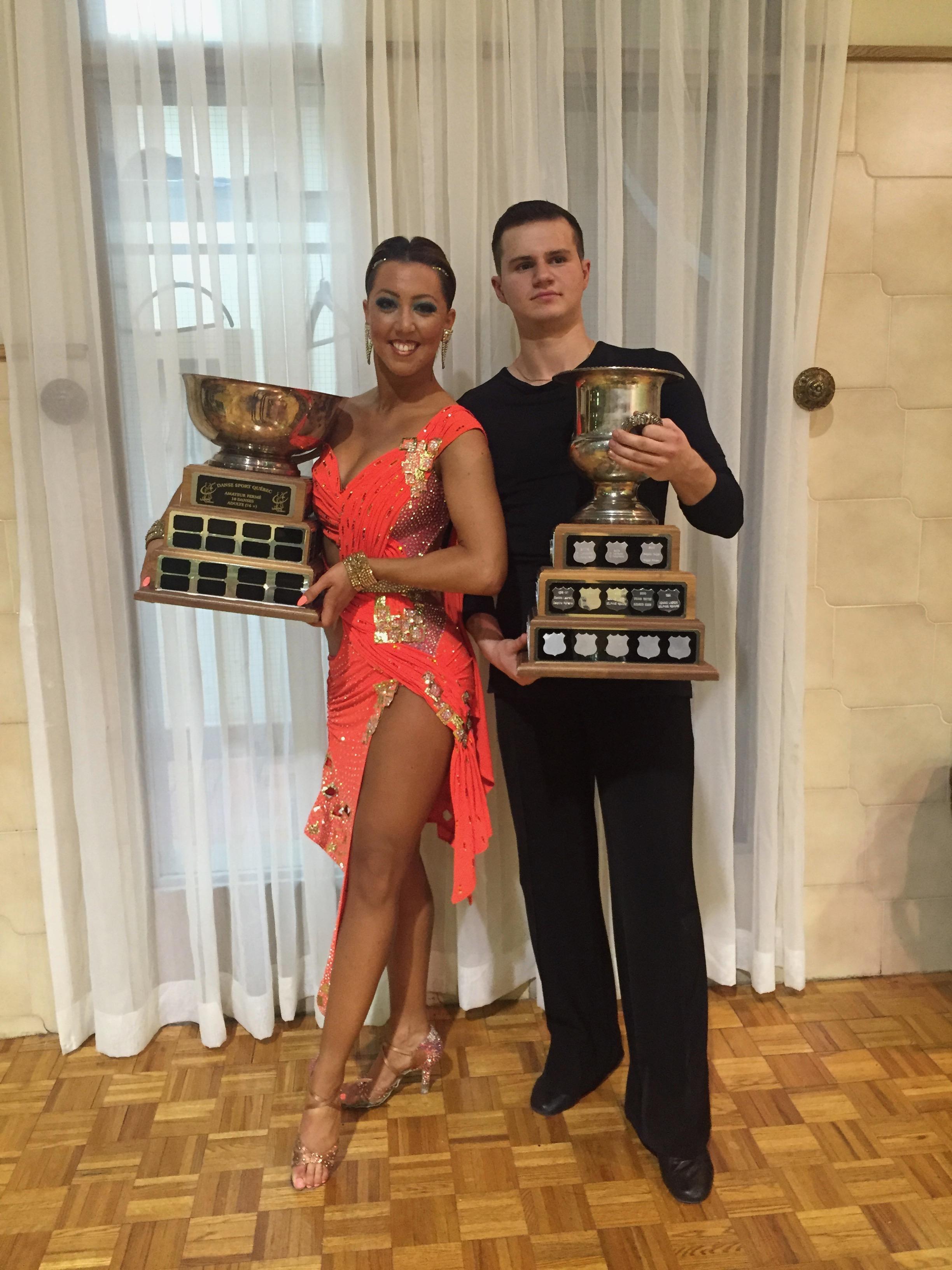 Sarah-Maude Thibaudeau et Daniel Zaharia - Danse Sportive Champions Québécois