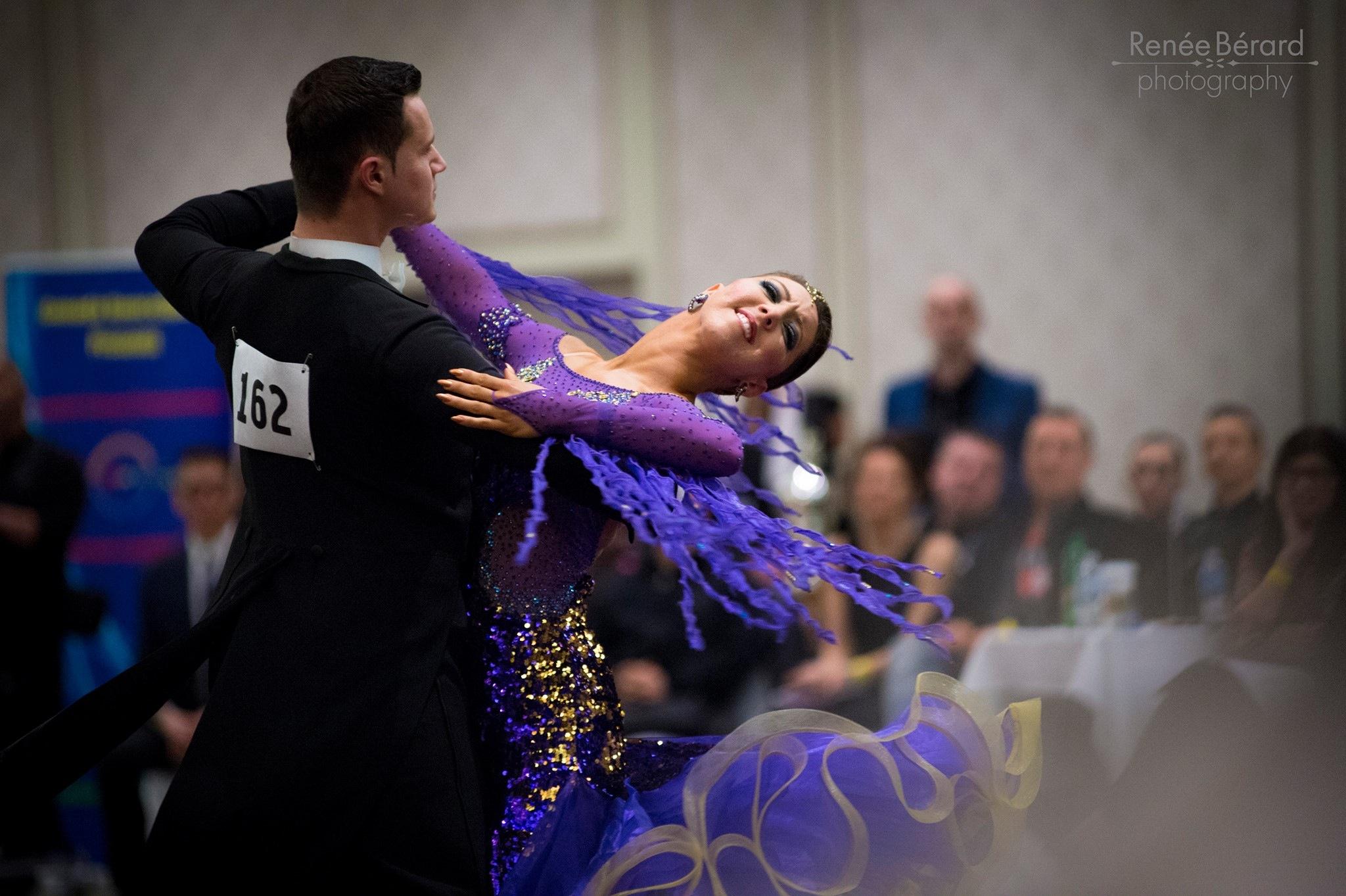 Sarah-Maude Thibaudeau et Daniel Zaharia - Danse Sportive