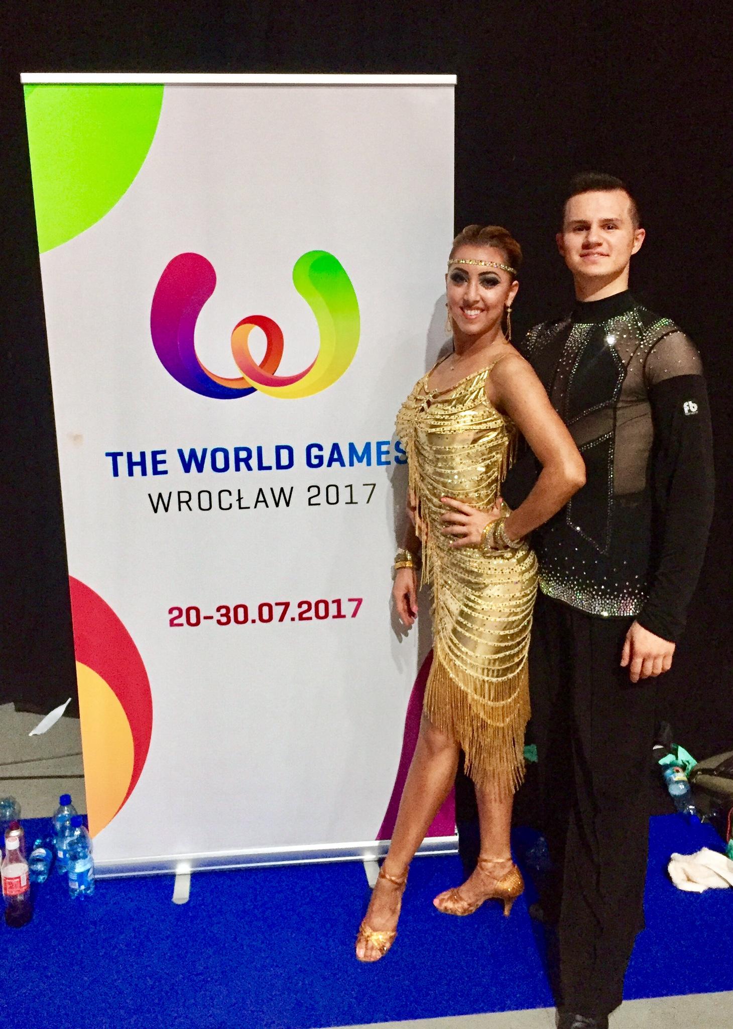 Sarah-Maude Thibaudeau et Daniel Zaharia - Jeux Mondiaux en danse sportive 2017 in Wroclaw, Poland