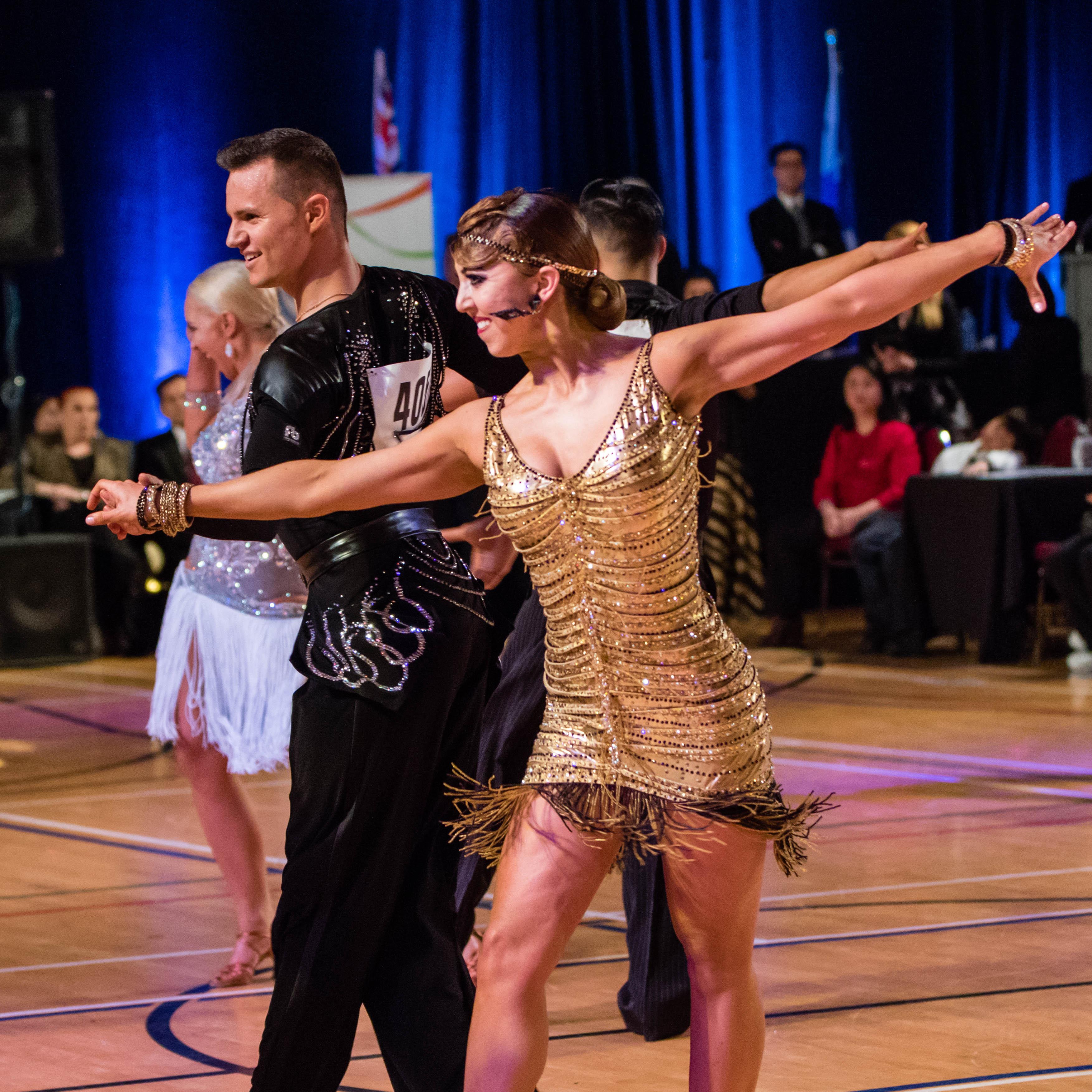 Sarah-Maude Thibaudeau et Daniel Zaharia - Danse Sportive Latin