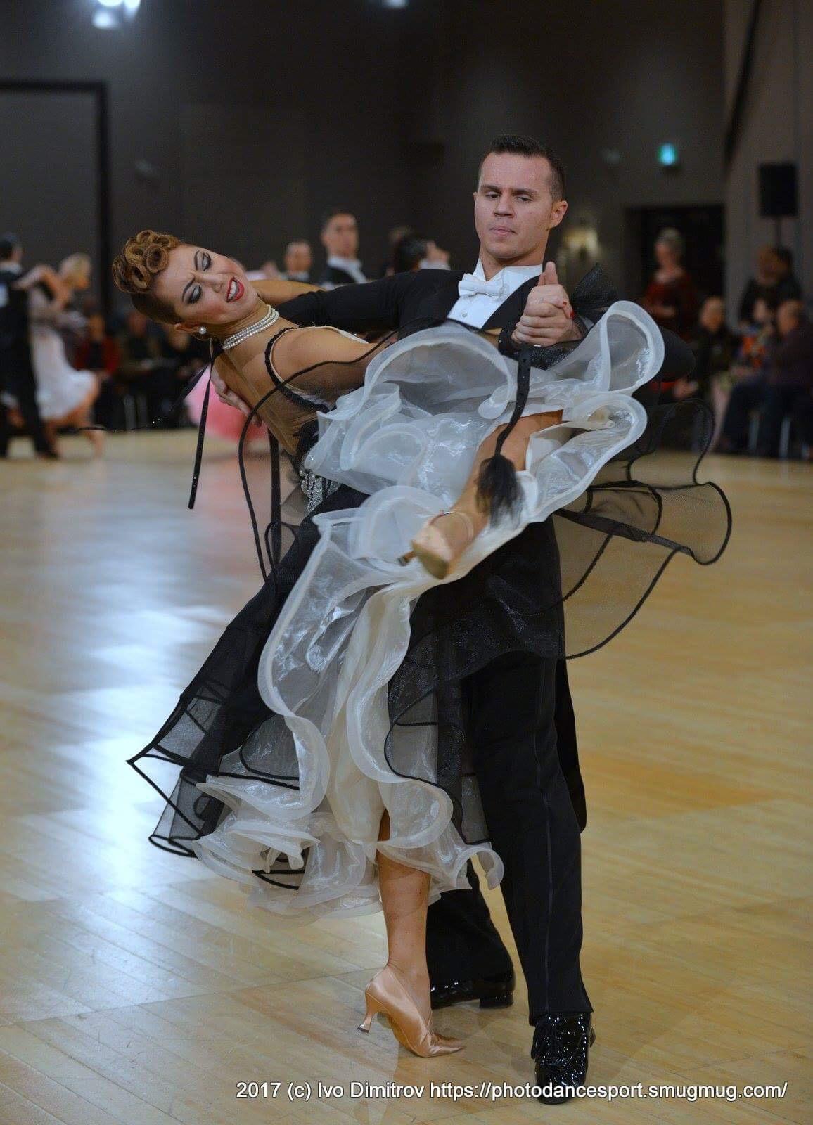 Sarah-Maude Thibaudeau et Daniel Zaharia - Danse Sportive Tango