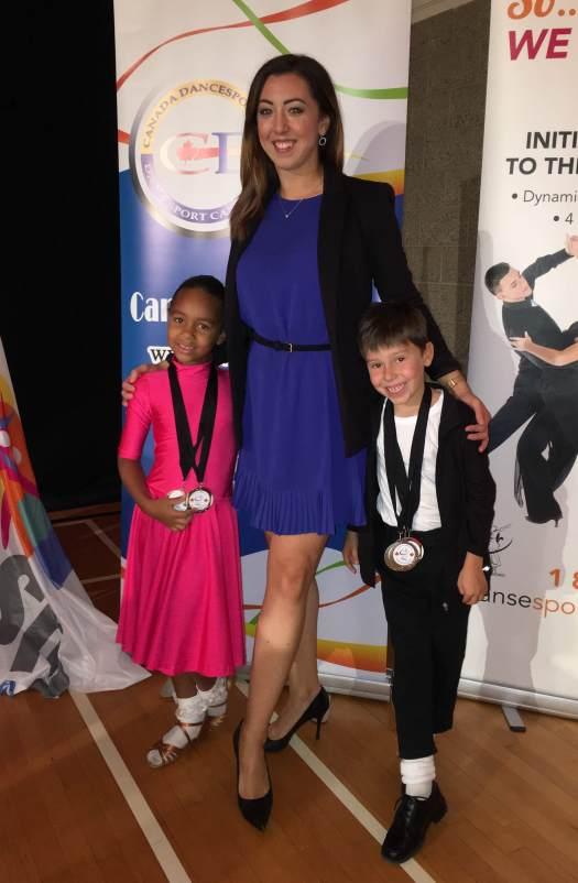 Sarah-Maude Thibaudeau - cours danse sportive pour enfants
